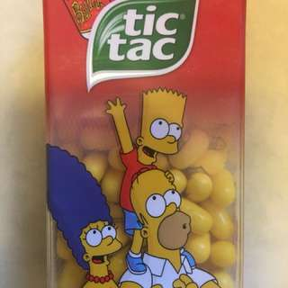 The Simpsons - Tic Tac - BUZZ COLA favor