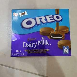 Oreo Cookie Covered with Cadbury Chocolate
