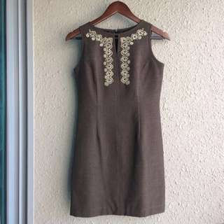 ACCENT Mini Dress with Embroidery