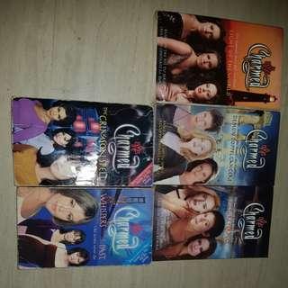 Charmed novel x 5