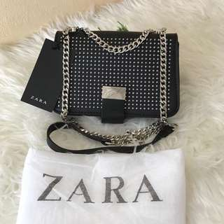 Zara Studed Sling Bag