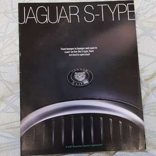 jaguar stype s-type supplement Car UK design technology road trip chassis handling