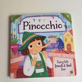 Pinocchio Children's Board Book
