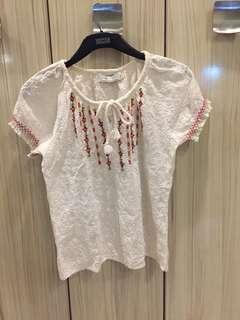 Calypso blouse with design