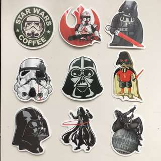 Star wars Sticker(stiker)