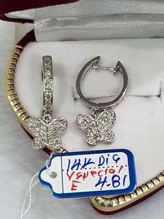 Titus 14k earrings