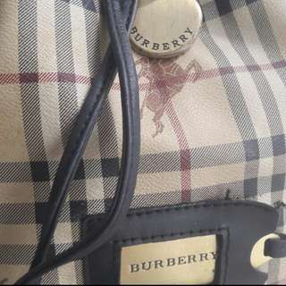Burberry Drawstring handbag