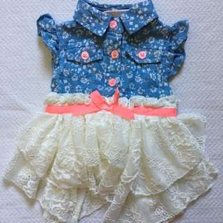 3 mos Lace Dress