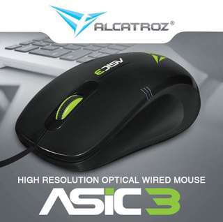 Alcatroz Wired Mouse
