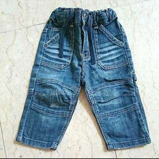 Blue Denim Jeans Pants