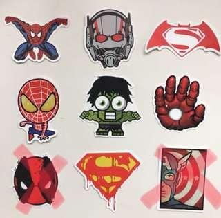 Superhero Stickers (stiker) 2