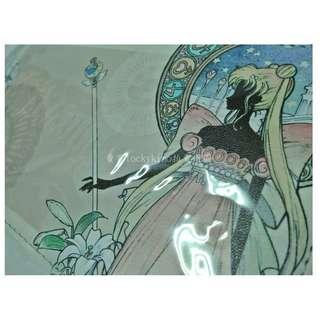 【美少女戰士 橫式 手拿包 快閃店 限定 Crystal 倩尼迪 公主】月光公主 女王 剪影 阿兔 小兔 水手月亮 包包