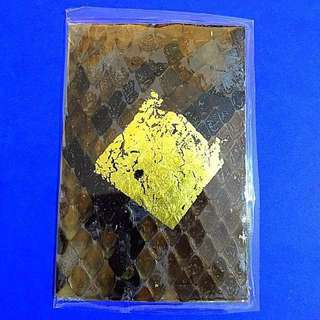 ⭐️Lp Dum Boa Skin handwritten yant card be 2560 made only 19 pcs