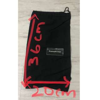 Authentic Branded E Zegna/Y3/Under Amour dustbags!