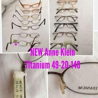 Anne Klein Titanium Eyeglass Frame 49-20-140