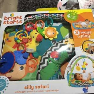 Bright Starts Playgym Silly Safari