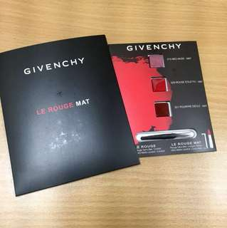 Givenchy le rouge mat (samples)