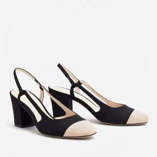 Mango Slingback Two-Coloured Heels
