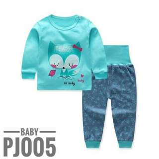 Baby Pyjamas High Waist Bellyband Pants