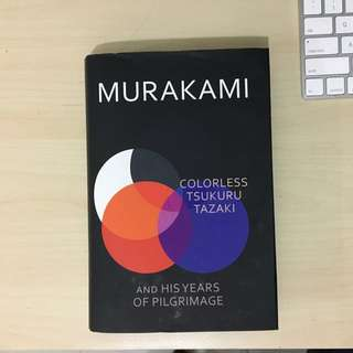 Haruki Murakami - Colourless Tsukuru Tazaki and his Years of Pilgrimage