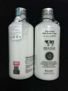 Scentio Whitening Milk Bath Cream by Beauty Buffet