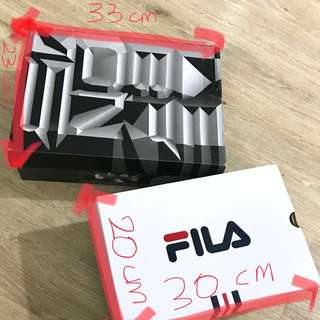 Authentic Nike/Fila shoe boxes