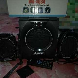 crown speaker