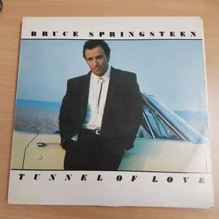 Bruce Springsteen Tunnel Of Love Vinyl LP Original Pressing Rare