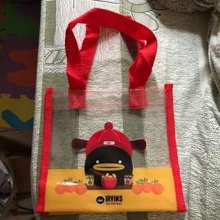 Irvins Plastic bag