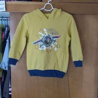 Disney 迪士尼 巴斯光年 上衣 size 130