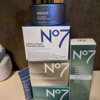 Marcelle/ No.7 Skincare