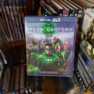 Green Lantern 3D/2D Blu-Ray - Region A