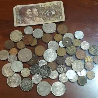 Assorted Coins Fron Diff Country (Take All)