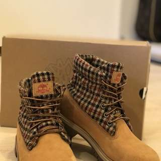 Timberland經典色反折6號靴原價4680~9成新