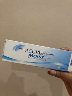 Softlens acuvue moist daily minus 4,75