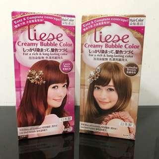 Liese Creamy Bubble Color