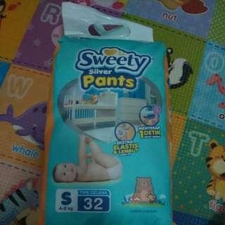 Sweety Silver Pants - Popok Sekali Pakai