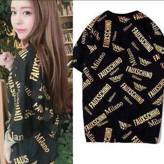 Moschino tee dress