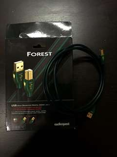 Audio Quest forest usb cable
