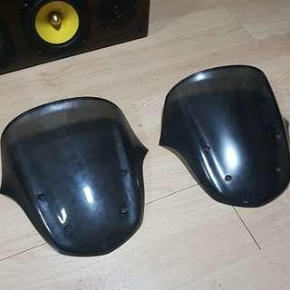 Gilera windshields (price revised,will let go to highest bidder)