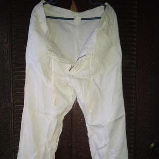 Gap Zippered Drawstring Pants