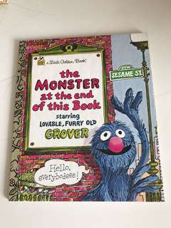 The Monster At The End Of This Book - Little Golden Book