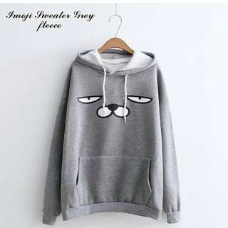 Imoji sweater grey
