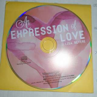 Charity Sale! An Expression of Love by Lisa Bevere Audio Digital CD