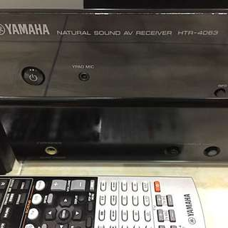 YAMAHA 3D HDMI Home Theatre System