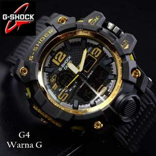 G shock dualtime list gold