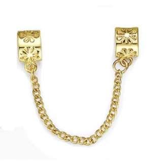 Gold Chain Charm