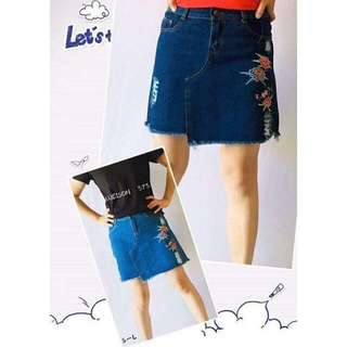 (cd) New arrival maong skirt size : S M L XL