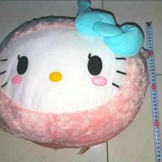 Brand New Hello kitty head pillow (XL)