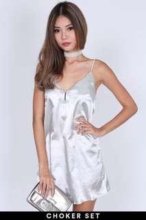 MDS Wanda Dress in Silver